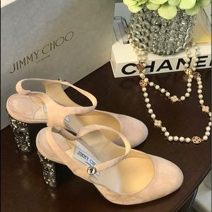 "NWT ""JIMMY CHOO"" SHOES SIZE 38 1/2"
